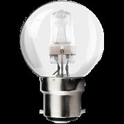 Kosnic 18w B22 Golfball Halogen Light Bulb (KHS18GLF-B22)