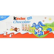 Kinder Chocolate Easter Small Bars T10 125g (XGB621620)