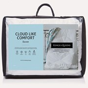 King & Queens Kings & Queens Cloudlike Comfort Duvet 10.5tog S/king (A1UDKICL10X