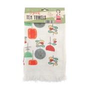 Fringed Kitchen Towels Utensils 3pk (KTS177569)
