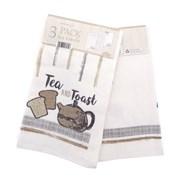 Tea & Toast Tea Towels 3pk (KTS185335)