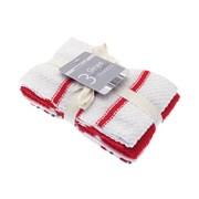 Terry Stripe Kitchen Towels Asstd 3pk (KTS194672)