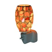 Red Heart Oval Mosaic  Warmer (L-7105)