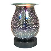Fireworks 3d Lamp Silver Base (L-7421)
