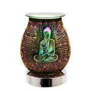 Buddha 3d Lamp Silver Base (L-74301)