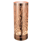 Colour Changing Wax Warmer Rose Gold Tree (L-7443WH)