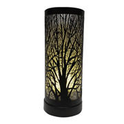 Colour Changing Wax Warmer Black Tree (L-7444WH)