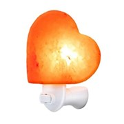 Heart Shape Plug In Salt Lamp 13cm (L-7773)