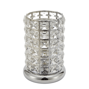 Clear-silver Crystal Led Lamp (L-8401CL)