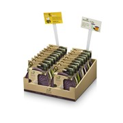 Setx2 Mini Mushroom Lids Asst (L230DISP)