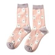 Miss Sparrow Mini Westies Socks Dusky Pink (SKS174DUSKYPINK)