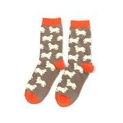 Miss Sparrow Spaniels Socks Grey (SKS211GREY)