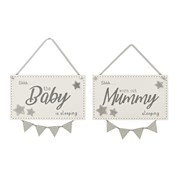 Lang Baby Sleeping Plaque 2 Asstd (8BY283)