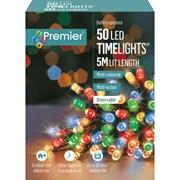 50 Bo Led Programmable Timer Lights Multi (LB112382M)