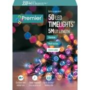 Premier 50 Bo Led Programmable Timer Lights Rainbow (LB112382RBW)
