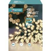 Premier Bo Led Programmable Timer Lights W/white 400s (LB131955WW)
