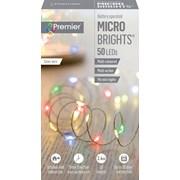 Premier Dec 50 B/o Led Timer Lights Multi (LB151209M)