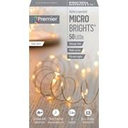 Premier Dec 50 B/o Led Timer Lights Vintage Gold (LB151209VG)