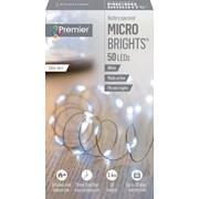 Premier Dec 50 B/o Led Timer Lights White (LB151209W)