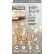 Premier Dec 50 B/o Led Timer Lights Warm White (LB151209WW)