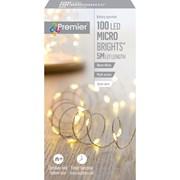 Premier Dec 100 B/o M A Microbrights Warm White With Timer (LB151210WW)