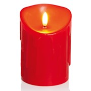 Flickerbrights Candle Red 13cm (LB183015R)