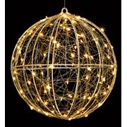 Premier Dec B/o Metal Ball Pin Wire Light Warm White 25cm (LB201165WW)