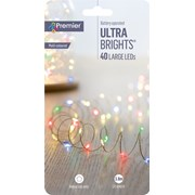 Premier Dec 40 Premier Pin Wire Lights Multi (LB201359M)