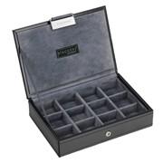 Lc.stacker Lidded Executive Black & Grey Mini Mens (73184)
