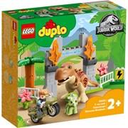 Lego® Duplo T-rex & Triceratops Dinosaur Breakout (10939)