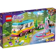 Lego® Friends Forest Camper Van and Sailboat (41681)