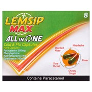 Lemsip Caps.max All In One 8s (RB422148)