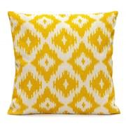Ikat Diamonds Scatter Cushion - Lemon Yellow (LGSC1908)