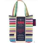 Totes Isotoner Totes Bag In Bag Fine Line Stripe Shopper (2517LDS)