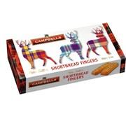 Campbells Tartan Stag Shortbread Fingers Carton 150g (LL546)