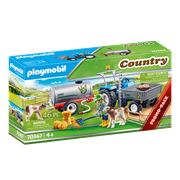 Playmobil Country Loading Tractor with Water Tank (70367)