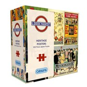 Gibsons Tfl Heritage Posters Puzzle Gift Tin 500pc (G3433)