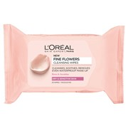 Loreal Fine Flowers Cleansing Wipes D/s 25s (457991)