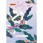 Lovely Day B/day Card (IJ0082W)