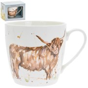 Country Life Highland Cow Mug (LP34055)