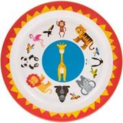 Little Stars Zoo Animal Plate (LP43440)