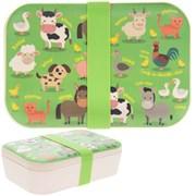 Bamboo Eco Lunch Box Farmyard (LP44588)