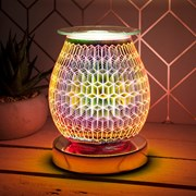 Desire Aroma Touch Lamp Rhombus Rose (LP45493)