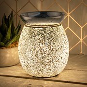 Desire Aroma Silver Mosaic Lamp (LP45499)