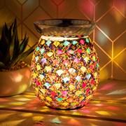 Desire Aroma  Amber Mosaic Lamp (LP45501)