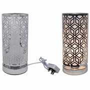 Silver Touch Lamp Geometric (LP45805)