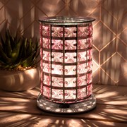 Desire Aroma Lamp Silver & Pink (LP46010)