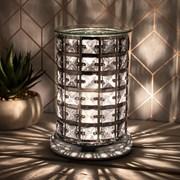 Desire Aroma Lamp Silver & Black (LP46012)
