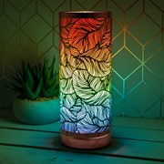 Desire Leaf Metal Touch Lamp Col (LP46019)