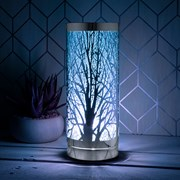 Desire Aroma Touch Lamp Silver/bl (LP46021)